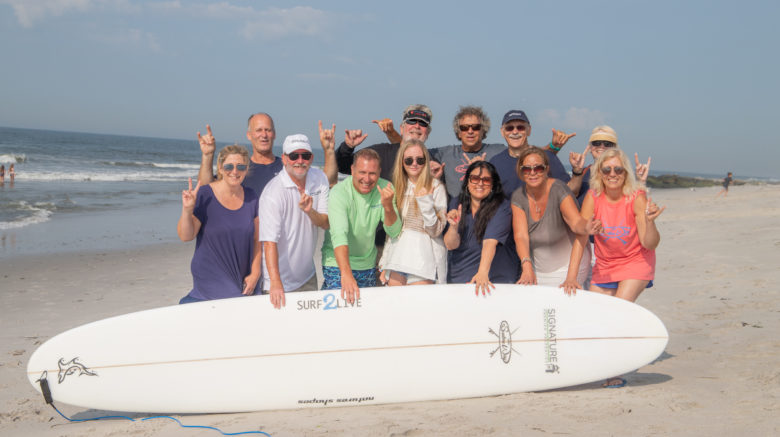 Signature Volunteers with Surfer's Way