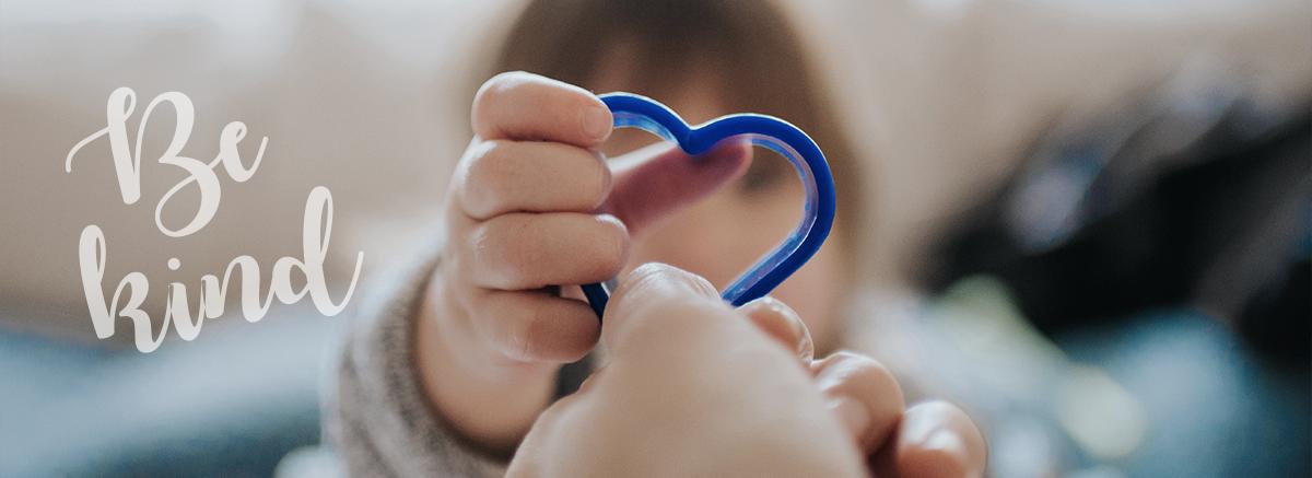 Handing Off a Heart Shaped Cookie Cutter